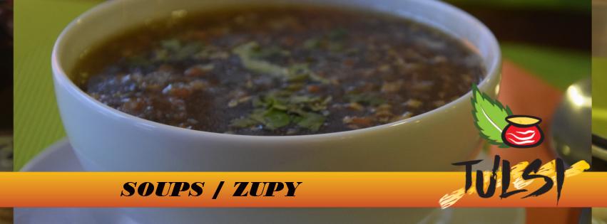 Menu na stronie baner - 1 zupy